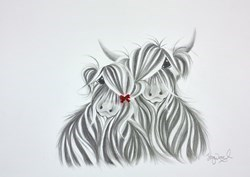 We Sparkle Sketch by Jennifer Hogwood -  sized 12x9 inches. Available from Whitewall Galleries